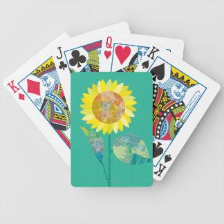 Blommas solrosor spelkort