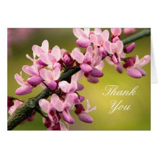 Blommatackkort Hälsningskort