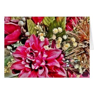Blommatackkort OBS Kort