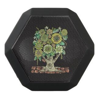 Blommaträd Svart Bluetooth Högtalare