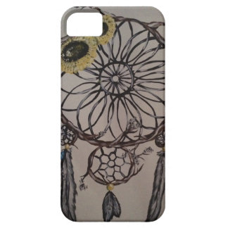 Blommig dröm- stoppare iPhone 5 Case-Mate fodraler