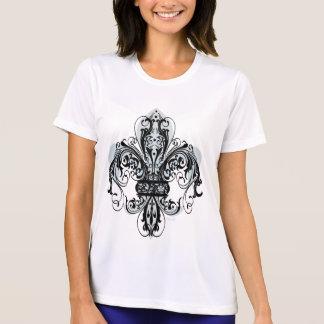 Blommigt Fleur-de-lis #1 Tee Shirt