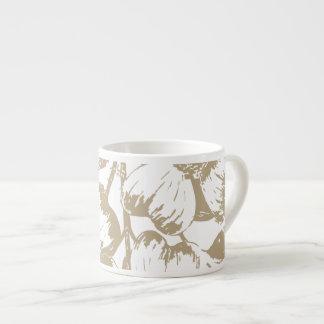 Blommigt för CafeLatte Dogwood Espressomugg