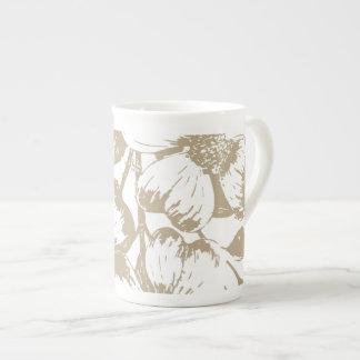 Blommigt för CafeLatte Dogwood Tekopp