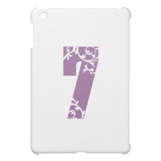 Blommigt för lilor #7 iPad mini mobil skydd