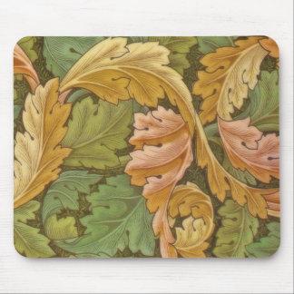 Blommigt för William Morris Acanthusvintage Musmattor