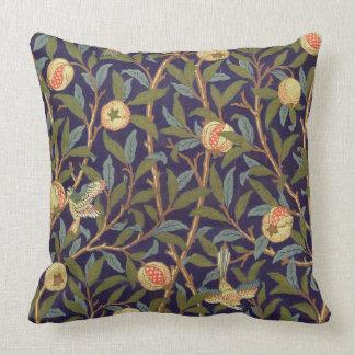 Blommigt för William Morris fågel- och Kudde