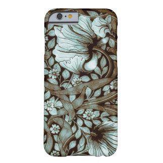 Blommigt för William Morris Pimpernelvintage Barely There iPhone 6 Skal