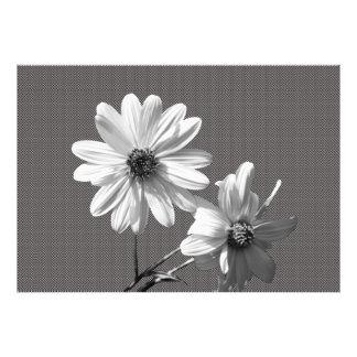 blommigt fotografiska tryck