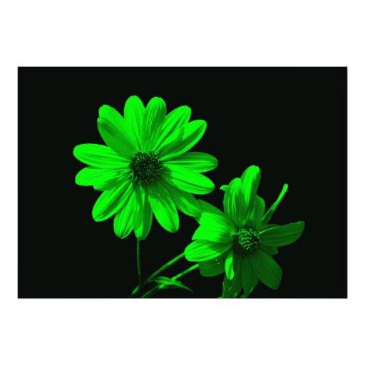 blommigt fotontryck