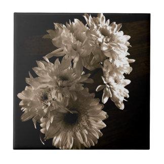 Blommigt Liten Kakelplatta
