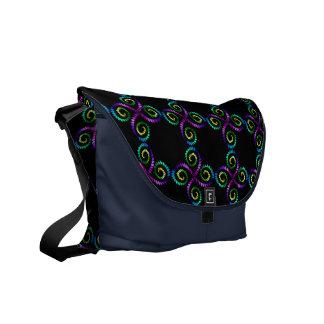 Blommigt Messenger Bag