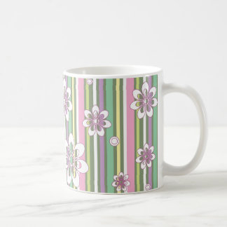 blommigt stripes_2a kaffemugg