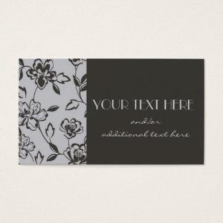 Blommigt Visitkort