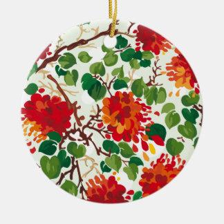 Blommigten drömm #6 på Susiejayne Julgransprydnad Keramik