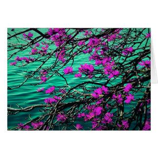 Blommigten noterar kortet OBS kort