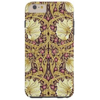 Blommönster för William Morris Pimpernelvintage Tough iPhone 6 Plus Skal