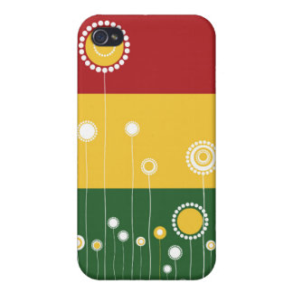 Blommönster iPhone 4 Cover