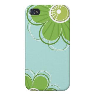 Blommönster iPhone 4 Skal