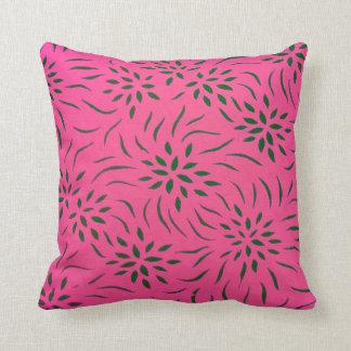 Blommönsterdekorativ kudde för hem- dekor mig