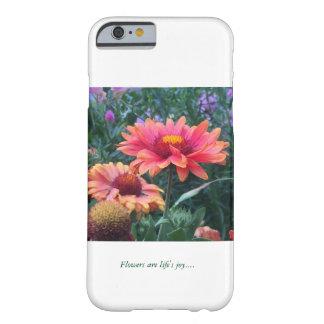 Blommor är liv glädje ..... barely there iPhone 6 skal