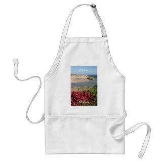 Blommor för St Ives hamnrosor Förkläde