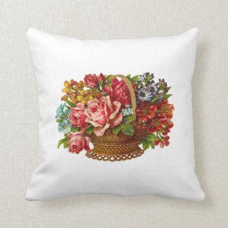 Blommor i blomdekorativ kudde