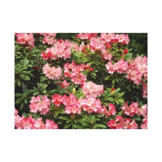 Blommor i en Bush Canvastryck