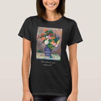 Blommor i en vasPierre Auguste Renoir målning T-shirt