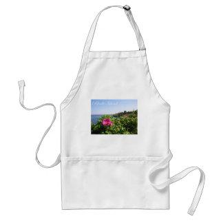 Blommor i Rhode - ö Förkläde