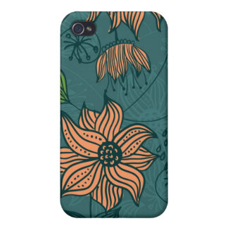 blommor iPhone 4 fodral
