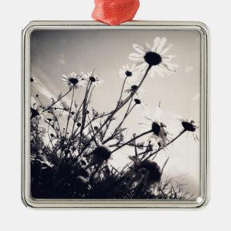 Blommor Julgransprydnad Metall
