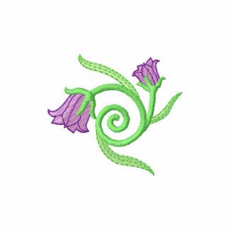 Blommor med vinen jacka