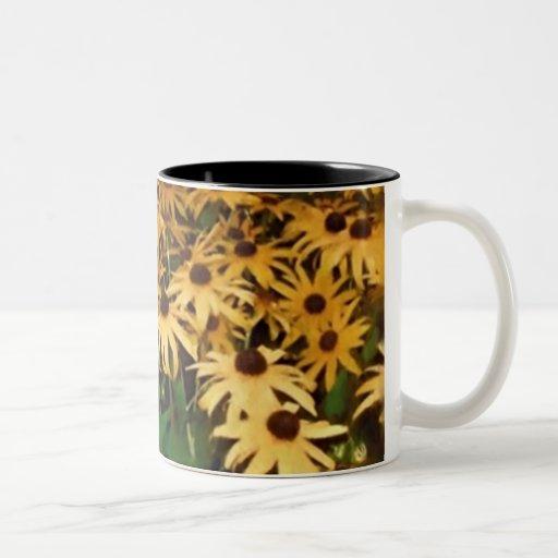 Blommor Kaffe Mugg