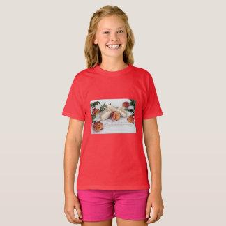Blommor & musik t-shirt