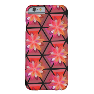 Blommor och geometri barely there iPhone 6 fodral