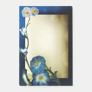 Blommor Post-it Block