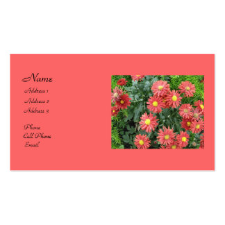 Blommor Visitkort