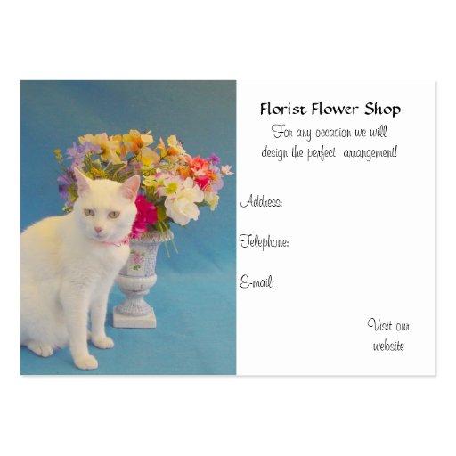 Blomsterhandel Visitkort