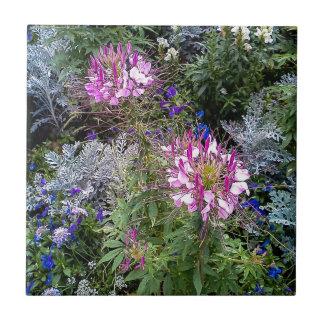 Blomsterträdgård Kakelplatta