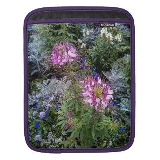 Blomsterträdgårdipad sleeve sleeve för iPads