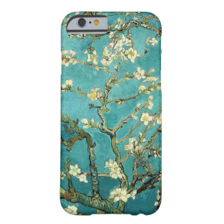Blomstra blommigten Van Gogh för mandelträdvintage Barely There iPhone 6 Skal