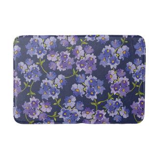 Blomstrar den blom- akvarellen för marin badrumsmatta