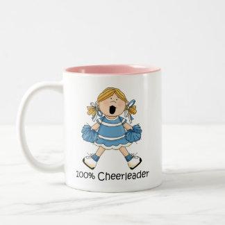 Blond hejaklacksledare 100% - Två-Tonad mugg