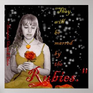 Bloodmaiden (som fördärvas av rubiesna) poster