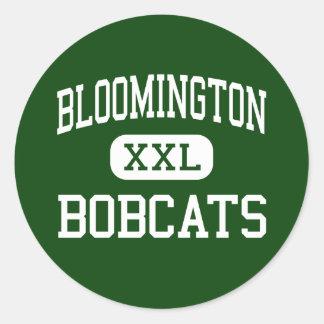 Bloomington - Bobcats - kick - Bloomington Texas Runt Klistermärke