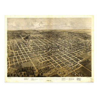 Bloomington Illinois (1867) Vykort