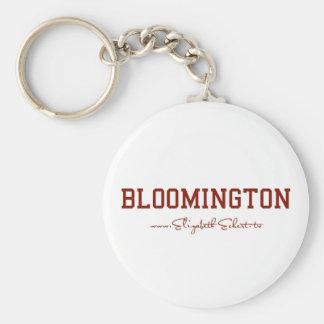 Bloomington Rund Nyckelring