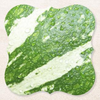 Blöt grönt, barn, randigt pumpafoto underlägg papper