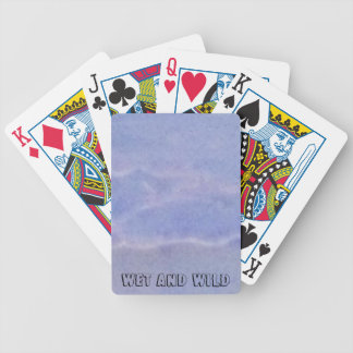 Blöt och vild spelkort